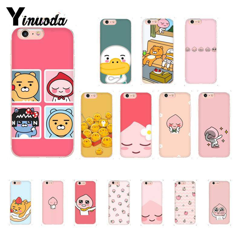 Cellphones & Telecommunications Yinuoda Cute Cartoon Good Friend Fart Peach Novelty Phone Case For Iphone8 7 6 6s Plus X Xs Max 5 5s Se Xr 10 Fundas Capa Pure Whiteness Phone Bags & Cases