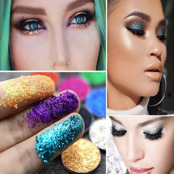 1 pudełko biała perła 23 kolory opcjonalnie monochromatyczny proszek do oczu cień kobiety uroda makijaż oczu Shinning Glitter Powder Make Ml5 tanie i dobre opinie Brokat Federacja rosyjska 1 box