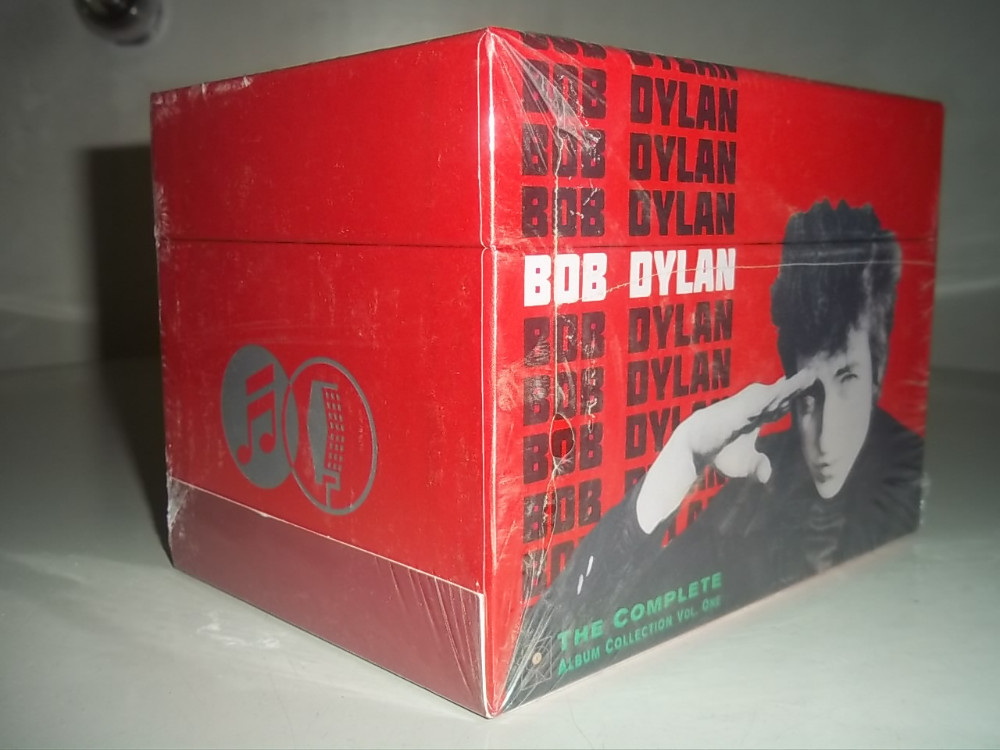 Bob Dylan CD The Complete Album Collection 47 CDs Classical Music Box set Free Shipping Chinese Factory New Sealed Version cd диск nickelback the triple album collection vol 1 the state silver side up the long road 3 cd