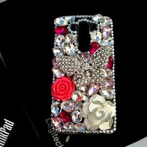 Image 5 - Luxe BRICOLAGE Cristal Diamant 3D Papillon Bling pour Samsung Galaxy A50 A70 A10 A20 A20E A40 A21S A30S A41 A31 A51 A71 A90 5G