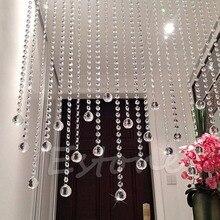 30 мм прозрачный хрустальный шар лампа призмы Часть Свадебный декор подвесной кулон-B119