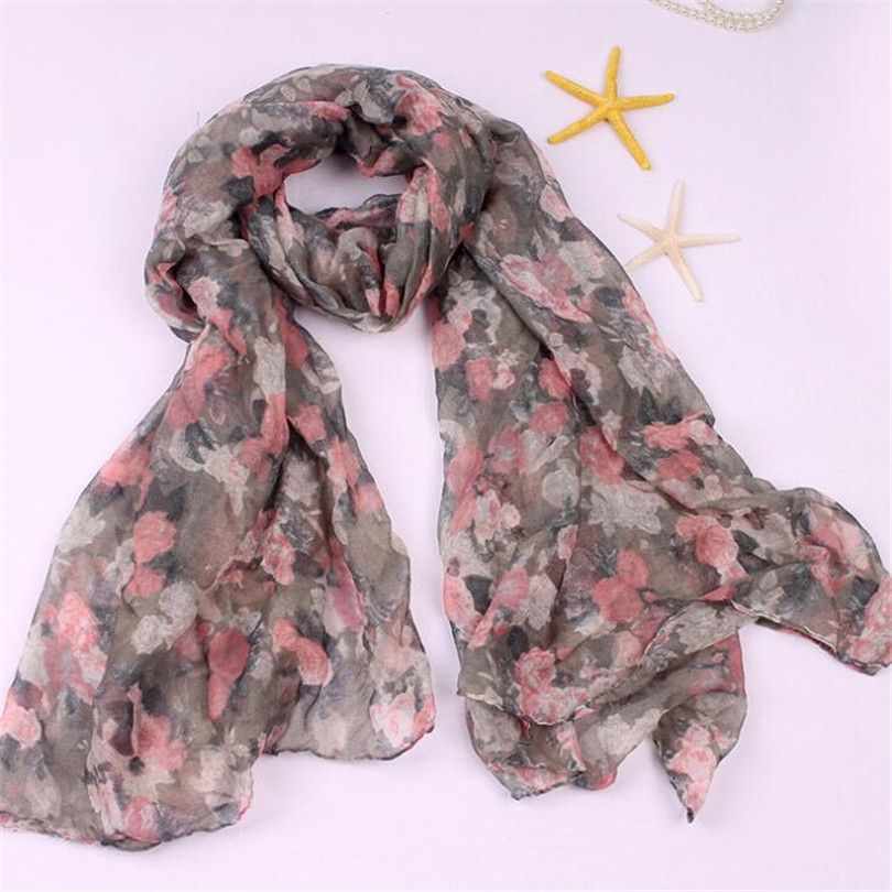 c61425316f7 US $3.9 |VISNXGI Wholesale New Fashion Women Print Soft Long Scarf Cotton  Scarves Neck Wrap Shawl Stole Spring Autumn Scarves For Women-in Women's ...