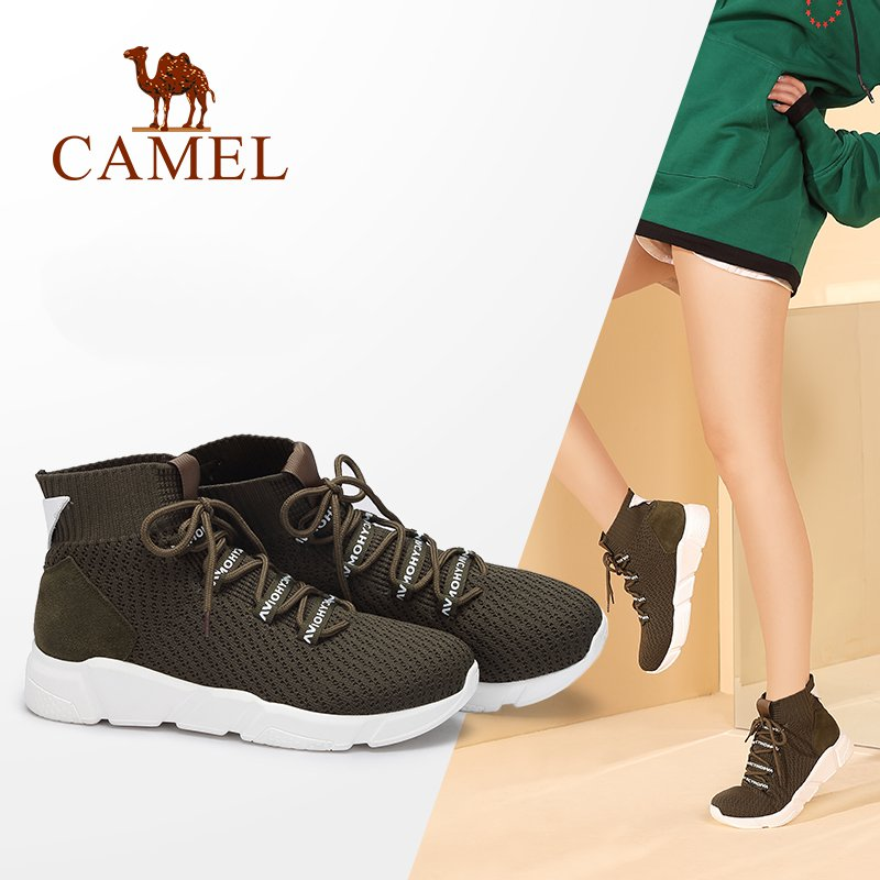 CAMEL 2018 Snow Boots Women Winter New Casual Boots Short Shoes Women Flat Heel Keep Warm Boots Snow Short Shoe s casual metal and flat heel design short boots for women