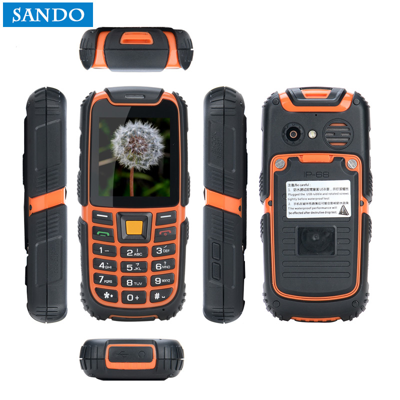 Wholesale Jeasung S6 Mini Rugged Elderly Phone Big Speaker Dual SIM Long Standby battery. Multi- Language with Russian Keyboard