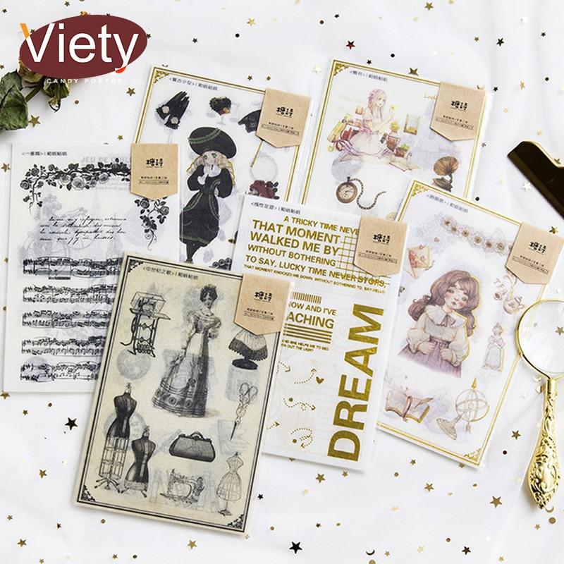 buy 2 $5off Cotton Linen Self Adhesive Scrapbook DIY Photo Album 20 sheets Gray
