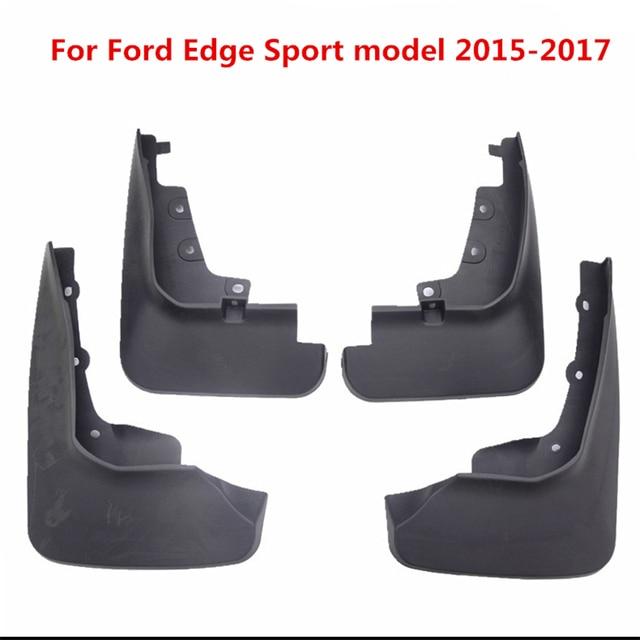 Pcs For Ford Edge Sport Model Black Front Rear Molded Car Mud Flaps Splash Guards Mudguard Mudflaps Fenders