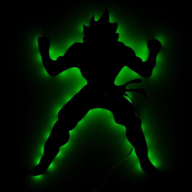 Creative USB Dragon Ball Son Goku Game Thema Spiegel Licht ...
