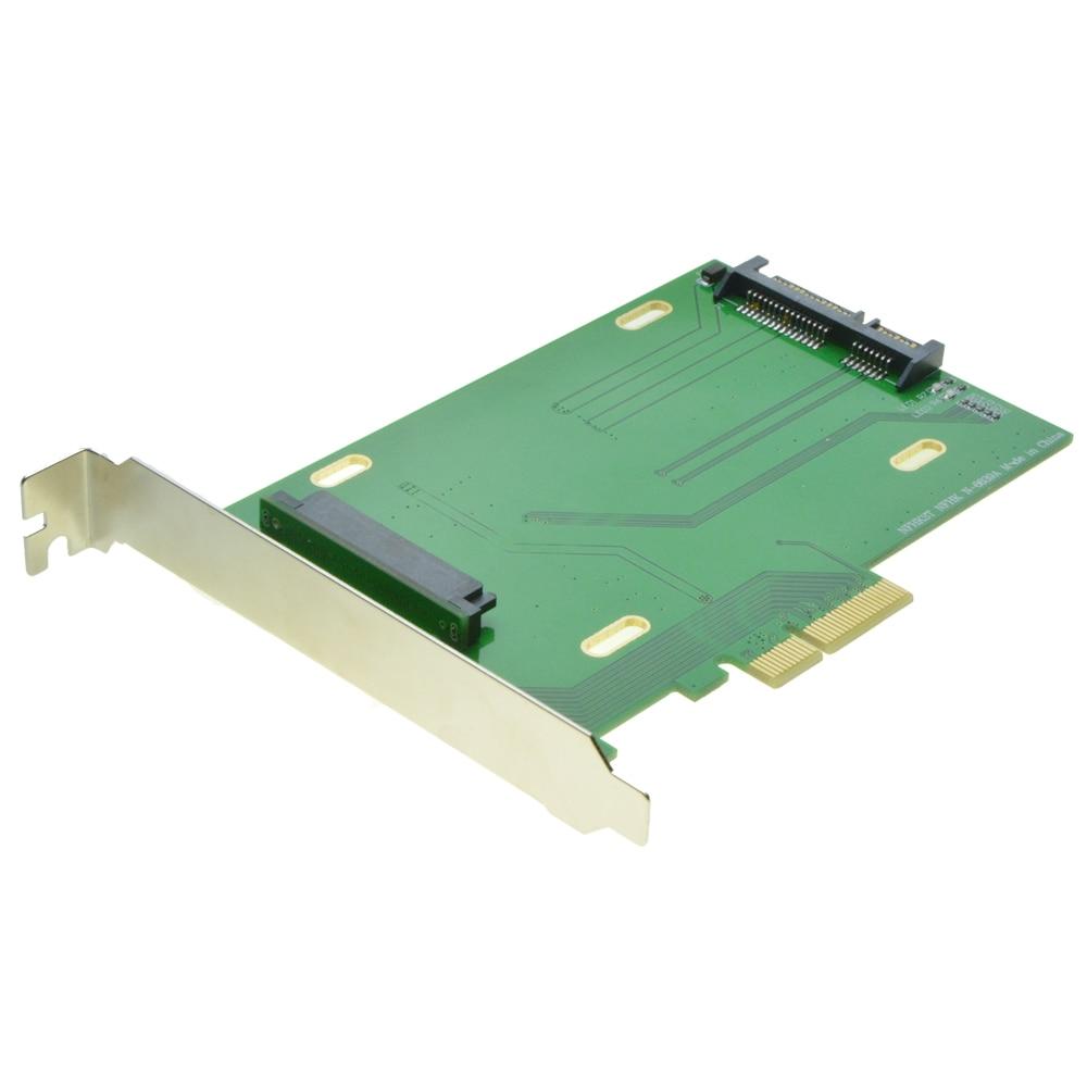 PCI-E 3.0 x4 Lane naar U.2 Kit SFF-8639 Adapter voor Intel Moederbord - Computer componenten - Foto 2