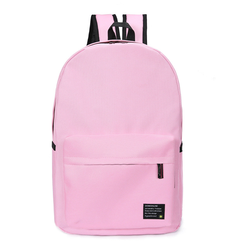 Candy School Bags For Girls Sweet Japanese Style Solid Student Notebook Backpack 14 Inch kids Schoolbag Male Shoulder Bag HAF001