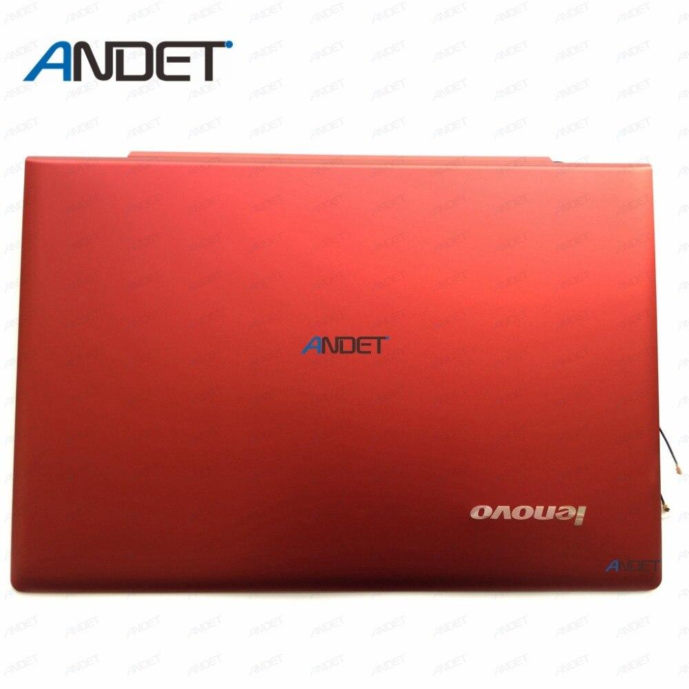 New Original for Lenovo IdeaPad U430 Touch U430T LZ9T LCD Cover Red 90203120 3CLZ9LCLV10
