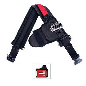 Image 4 - Correa de aleación para cámara Sony Canon Nikon SLR, accesorio de cintura para colgar en la cintura, con placa de hebilla, Correa SLR, placa de cama en la nube y billetera