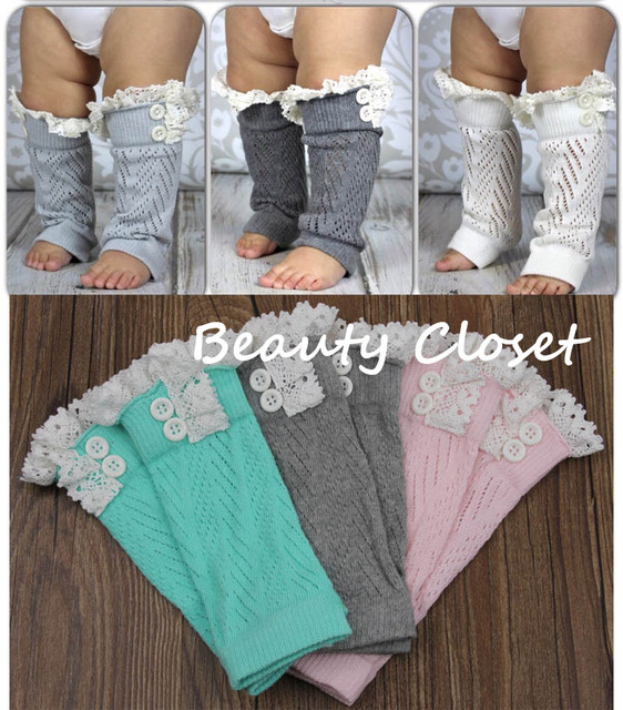 Baby Girl Crochet Leg Warmer-Lace Boot Leggings-Infant Girl Crochet Tight  10pairs/