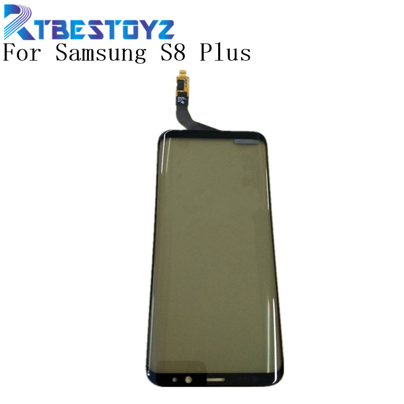 RTBESTOYZ Touchscreen For Samsung S8 Plus Touch Screen Digitizer Glass Panel For Samsung Galaxy S8 Plus S8plus Touch Panel