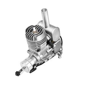 Image 1 - RCGF 10cc Benzine/Benzine Motor w/Achter/Side Uitlaatpijp 10 ccRE/10 ccBM voor RC model Vliegtuig
