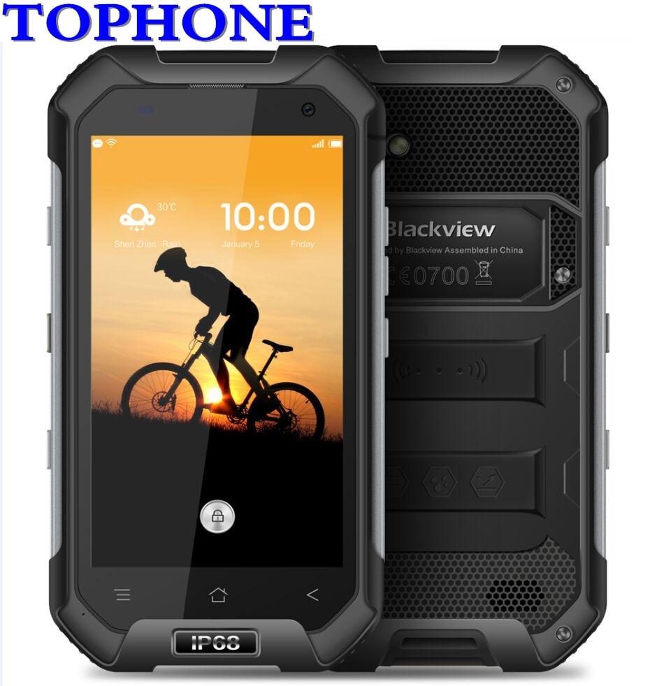 Blackview BV6000S 4g NFC Impermeabile Antiurto Smartphone MTK6735 Quad Core da 4.7 pollici 4g 2 gb 16 gb 4200 mah Glonass GPS del telefono mobile
