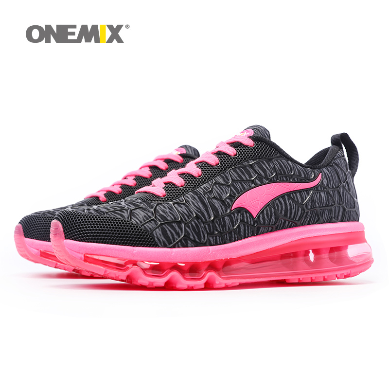 ONEMIX Women s Running Shoes Outdoor Sport Breathable Jogging Sneakers Walking Designer Athletic Shoes Pink zapato