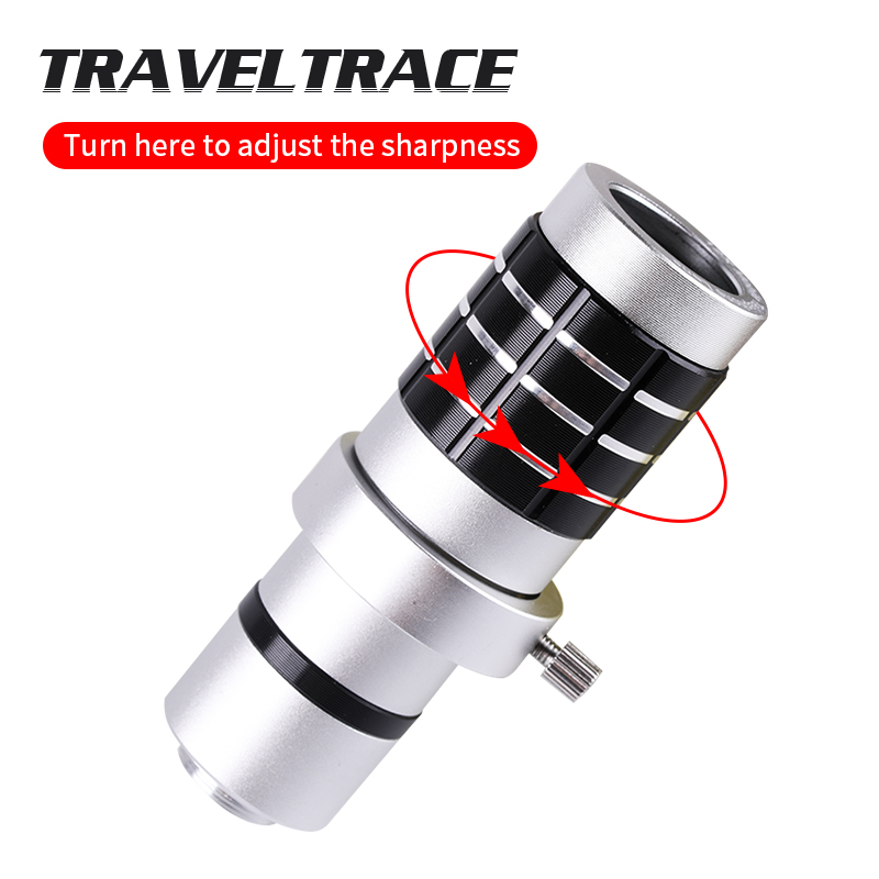 12x Universal HD Objective Optical Zoom Lens Telescope Telephoto Phone Camera Lens Clip For iPhone Android Mobile Cell Phones in Monocular Binoculars from Sports Entertainment