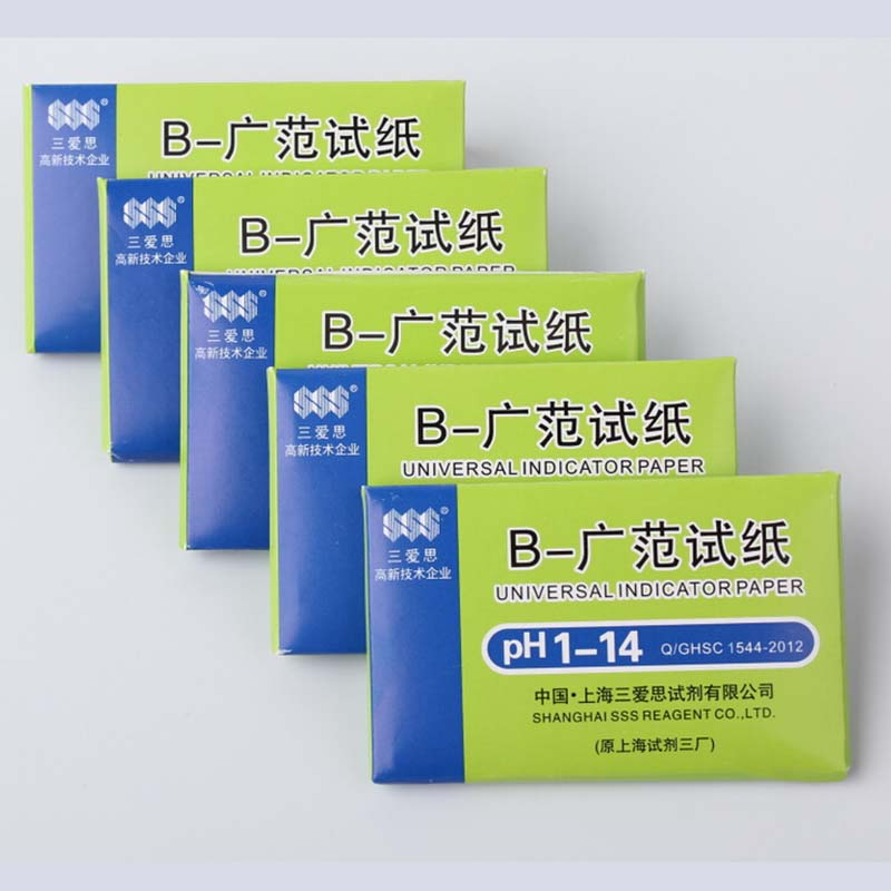 240pcs Ph Wide Test Strip 1-14 PH Test Paper Chemical Laboratory Supplies Laboratory Supplies 3 Sets