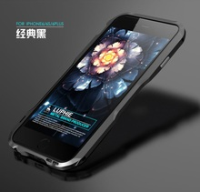 For iphone 6 6s Case Metal Frame Original LUPHIE Luxury Frame Protector Case Back Cover for iphone 6 6s plus 4.7″ 5.5″