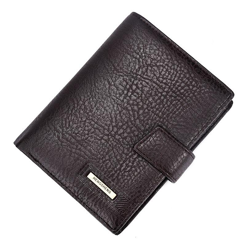 2017 varumärke Hengsheng manens plånbok högkvalitets hasp - Plånböcker - Foto 6