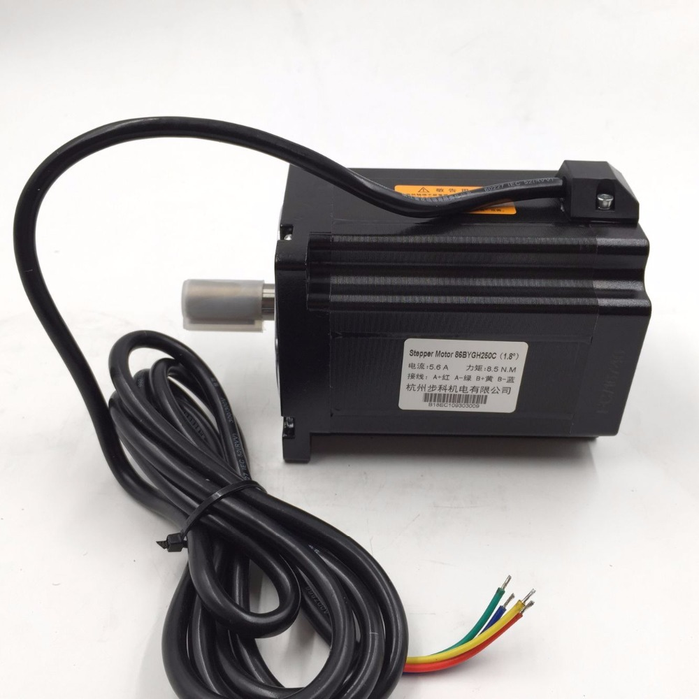 Nema 34 8.5Nm Micro Stepper Motor Driver Kit HB 860H+86BYGH250C ...