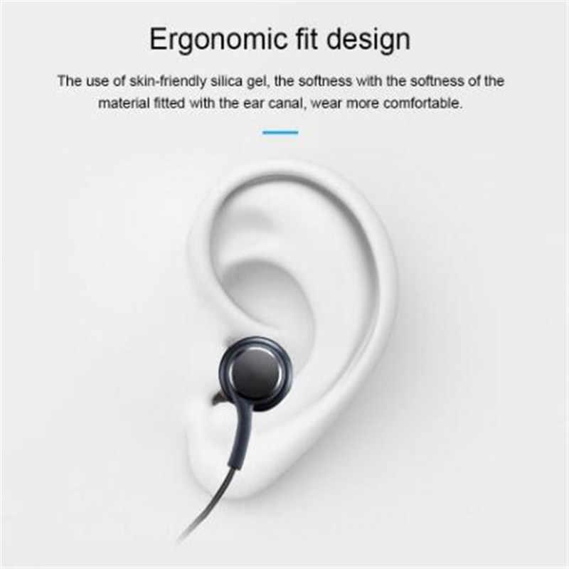 S8 Auricolare con Isolamento Acustico Stereo Sport in Ear Auricolari Riflettente Tessuto in Fibra di Linea di Supporto Auricolare Galaxy S8 S8P S9