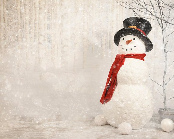 Winter Tree Snowman tree Baby shower  backdrop  High quality Computer print children kids background|Background| |  - title=
