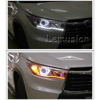 1Pair Car Styling LED Crystal Water Lamp DRL Daytime Running Lights For Mercedes Benz W211 W203