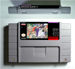 Dragon Quest V 5 - RPG Game Cartridge Battery Save US Version image