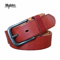 Mydelex 100 Leather Men S Belt 2017 MAB1736 SMOOTH Top Leather Best Selling