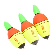 2Pcs 20g/30g/35g Fishing Floats Intelligent Electronic Light Bobber Fishing Float Fish Advanced EVA Plastic Float Bite Alarm NEW