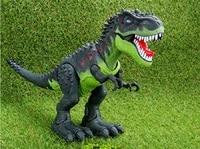 Electronic Dinosaur Toys Dinosaurs Model Walking Dinosaur With Flashing And Sounds Tyrannosaurus Flashing Electric Dinosaur