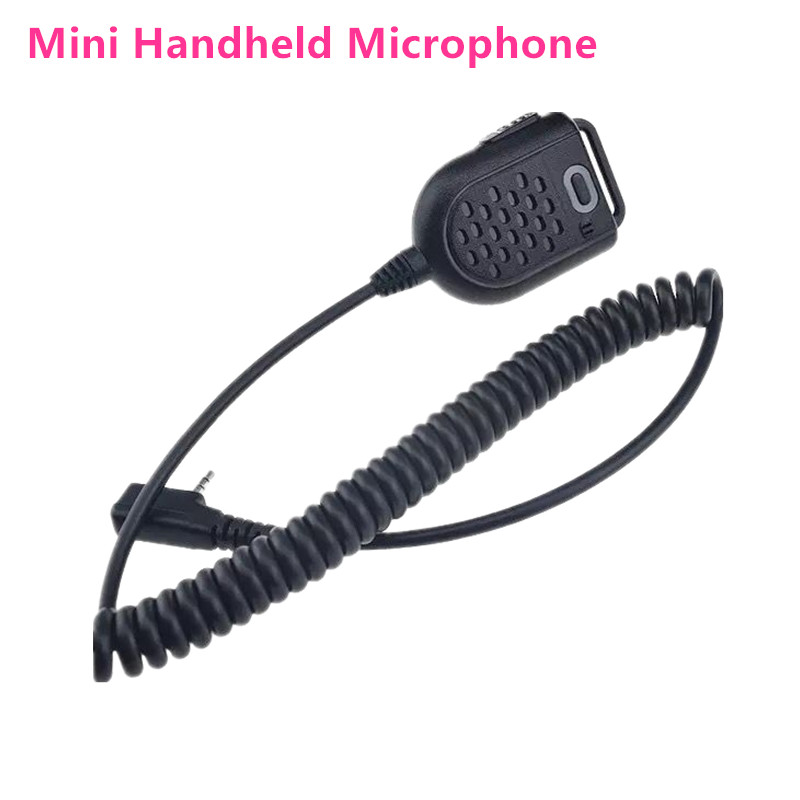 100% Original Baofeng UV-5R Mini Microphone Speaker BF-888S Walkie Talkie 50km Portable Police Ham Radio Transceiver Accessories