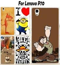 Миньон с принтом волка пластиковые гель капюшон Мягкие TPU Чехол для Lenovo P70 P70A P70-A P70T P 70 5.0 дюймов телефон кожа случае В виде ракушки
