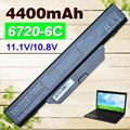 4400mAh battery for COMPAQ 510 511 610 615 for Hp 550 Business Notebook 6720s 6730s  6735s 6820s 6830s HSTNN-IB51 HSTNN-IB62