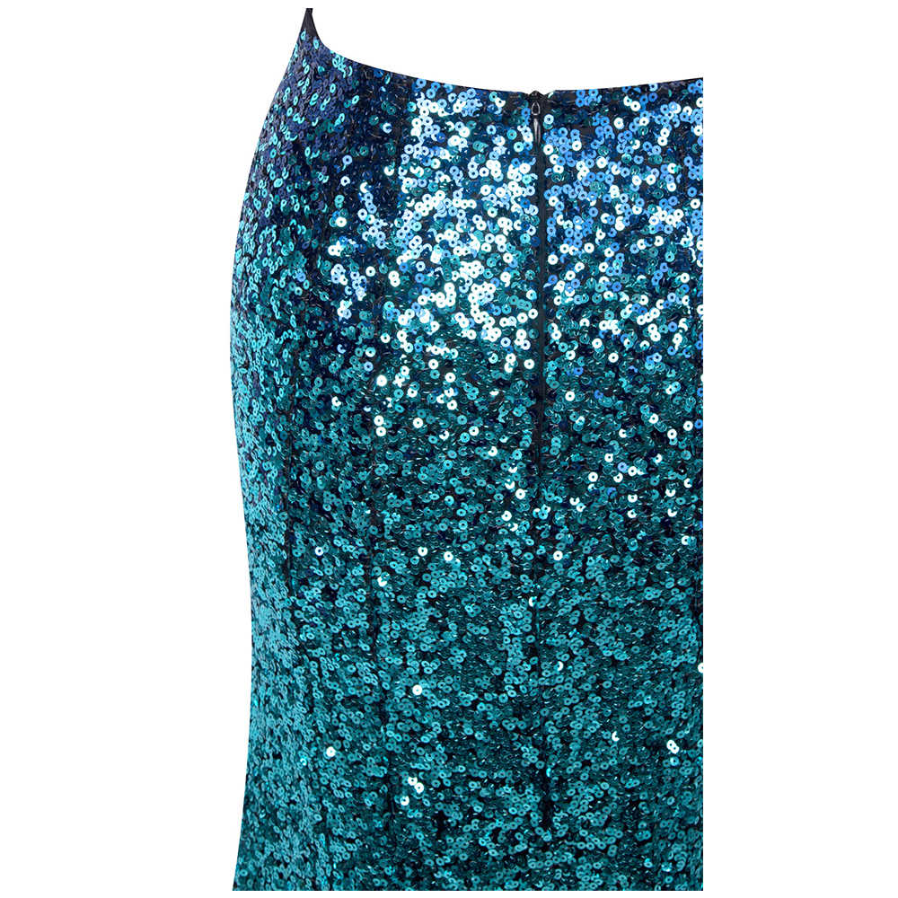 04473db0f5d ... Angel-fashions Sequined Gradient Sash Hollow Out Celebrity Dress Long  Evening Dresses Blue 360 382 ...