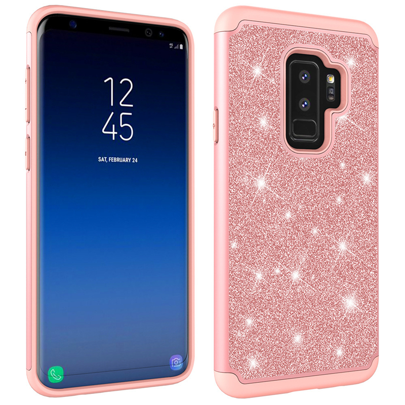 Fitted Cases Phone Bags & Cases Industrious Eleteil Silicone Case For Samsung Galaxy S8 S9 S10 Plus Glitter Crystal Sequins Soft Phone Cover For Samsung S10 S10e E40