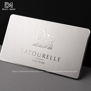 Image 5 - Metal business card metal membership card design mirror metal business card high grade mirror card custom stainless steel busine