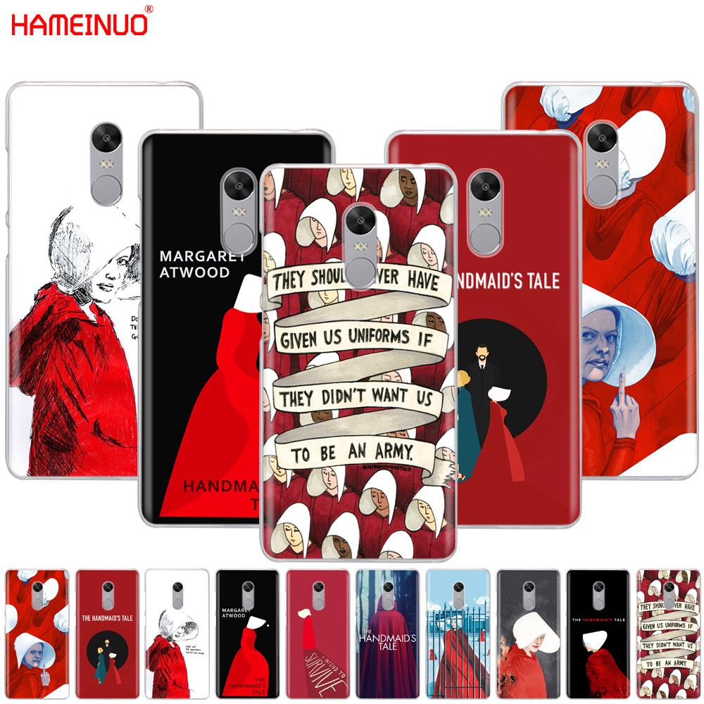HAMEINUO The Handmaid Is Tale Cover Phone Case For Xiaomi Redmi 5 4 1 1s 2 3 3s Pro PLUS Redmi Note 4 4X 4A 5A