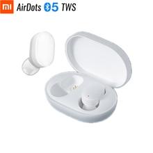 Original Xiaomi AirDots Youth Bluetooth Headset TWS True Wireless Stereo Cute Mini 4.2g Light Earphones Tap Control Charging Box