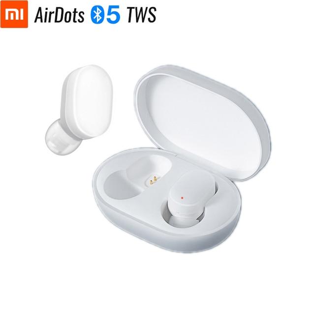 Original xiaomi airdots juventude fone de ouvido bluetooth tws verdadeiro estéreo sem fio bonito mini 4.2g luz fones controle da torneira caixa carregamento