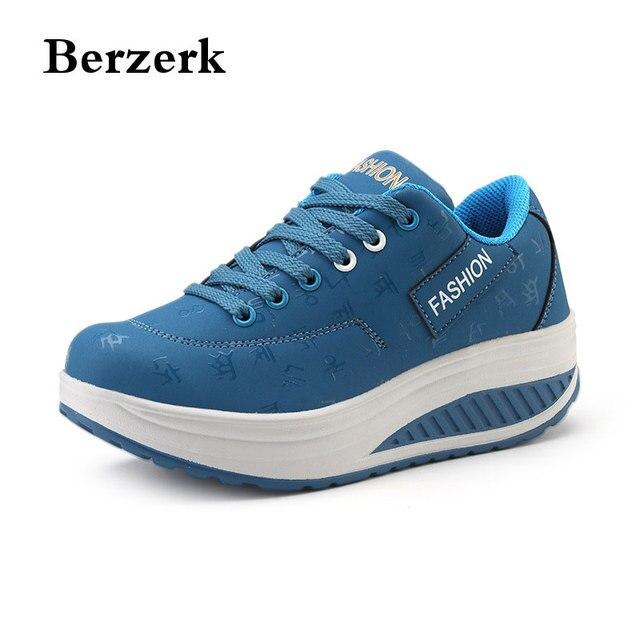 Ragazze All'aperto Signore Sneakers Fitness Donne Scarpe Piattaforma vZw1qA