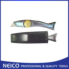 Free Shipping   High Quality Carpet Shark Knife With Compact Holster,Roofing Vinyl Floor Knife
