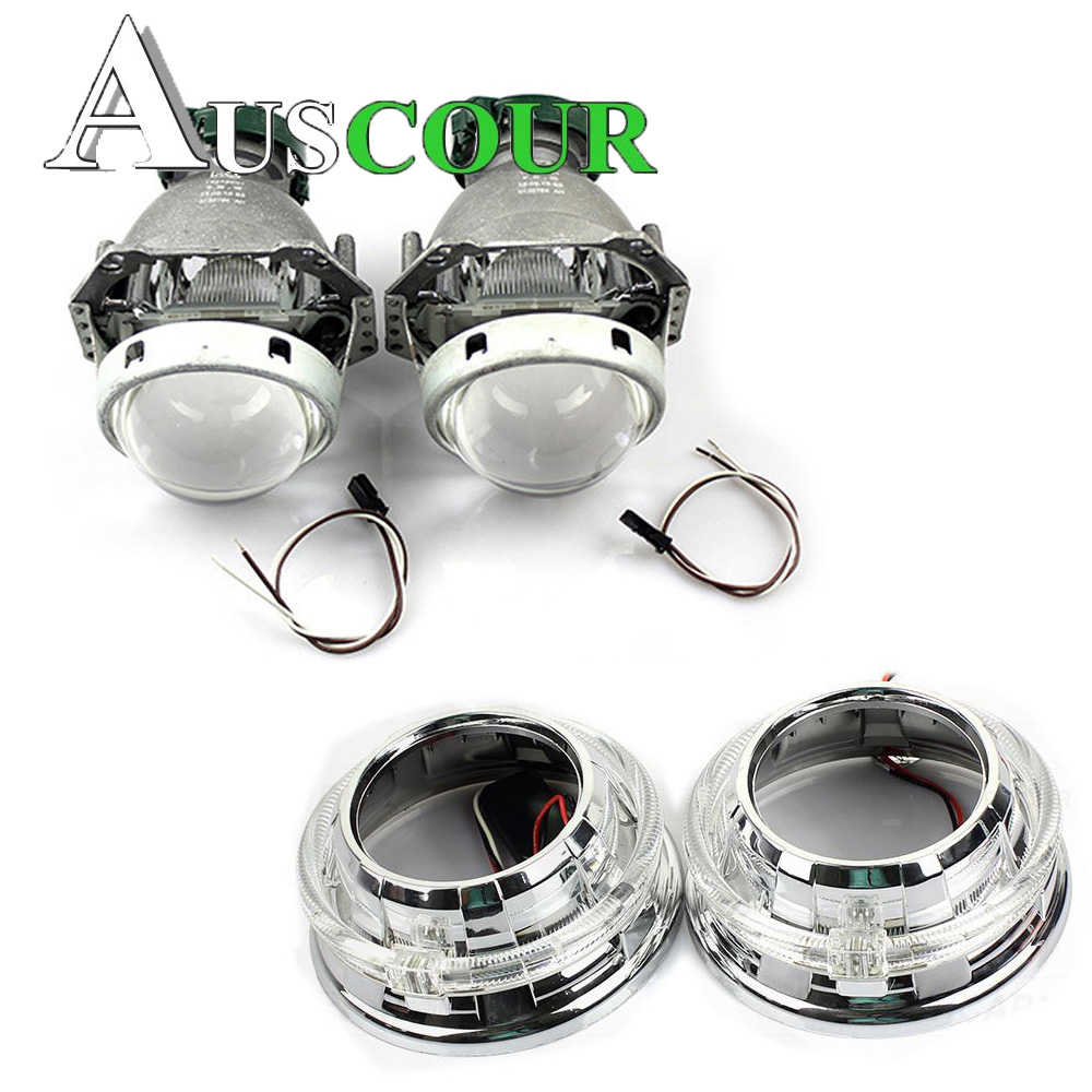 2pcs 3.0 inch hella Bi xenon Bixenon hid Projector lens metal holder D1S D2S D2H D3S D4S hid xenon kit headlight car headlight