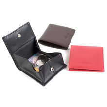 AGBIADD High Quality Genuine Leather Coin Pouch Men Women Mini Wallet Coin Purse