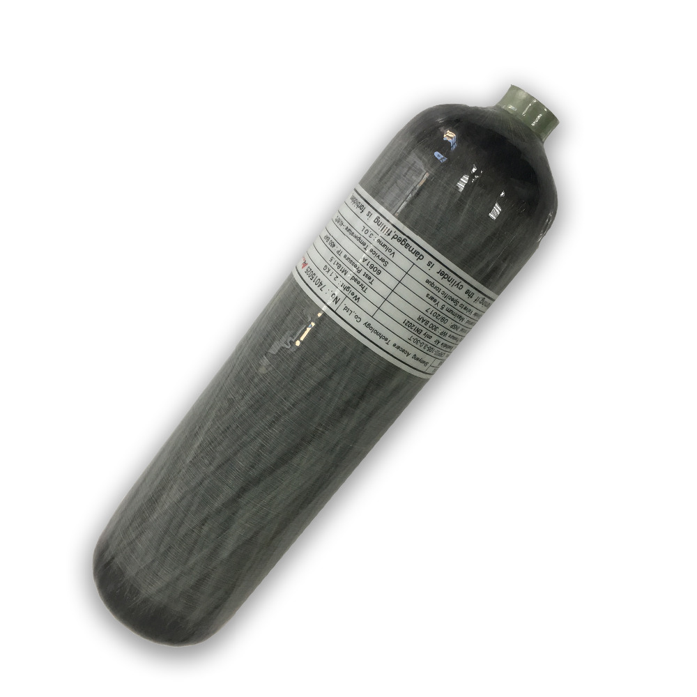 AC168 Mini HP 4500PSI Paintball Air PCP Tank Composite M18*1.5 Thread CE Carbon Fiber Gas Cylinder From ACECARE