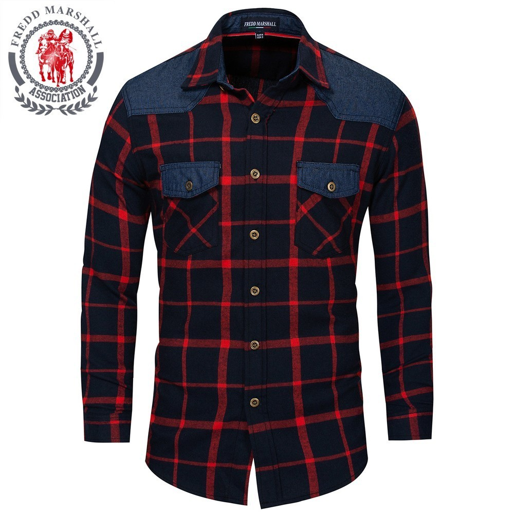 Pioneer Camp simple printed men T shirts brand clothing long sleeve casual T shirt male top