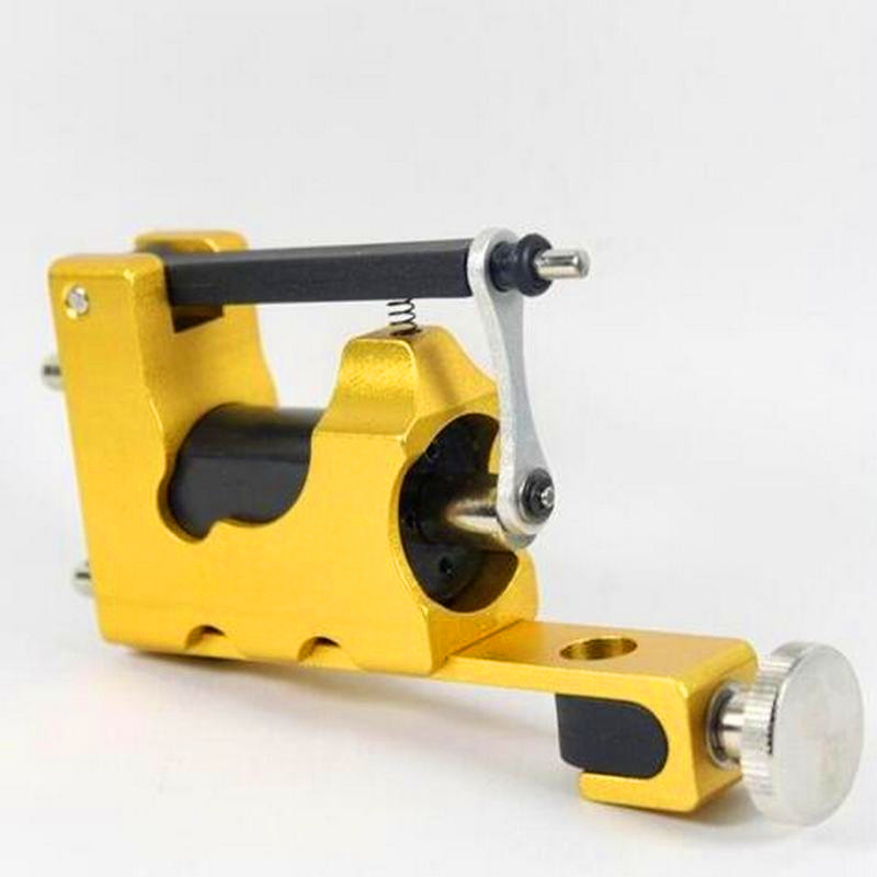 STEALTH ROTARY Aluminum Rotary Tattoo Machine Strong Consistent Power for Shader & Liner Yellow one stealth rotary aluminum rotary tattoo machine strong consistent power for shader