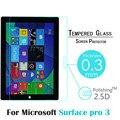 Vidrio templado para microsoft surface pro 3 12.0 pulgadas tablet hd protector de pantalla anti shatter película protectora de vidrio