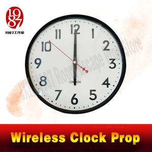 Image 2 - 部屋脱出時計小道具 JXKJ1987 ワイヤレス時計小道具置く適切な時期のアンロック Takagism ゲーム実生活エスケープルームパズル